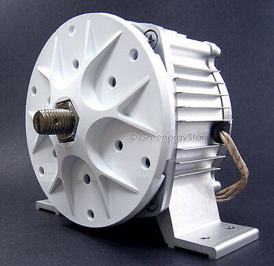 WindZilla + Hub 24 V AC Permanent Magnet Alternator Wind Turbine Generator PMA