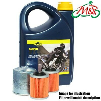 XJ 550 J Maxim 1982 Putoline DX 4 10w40 and Premium Oil Filter