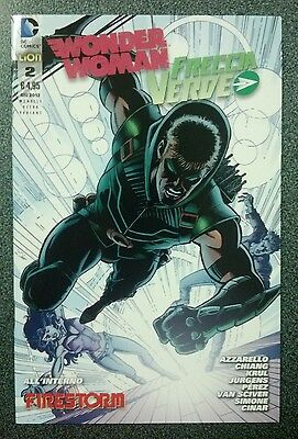 WONDER WOMAN n. 2 Ultra Variant - Lion - DC - NUOVO / New 52 / Freccia Verde