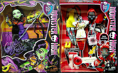BRAND NEW! Monster High CASTA FIERCE and WYDOWNA SPIDER! Exclusive NIB!