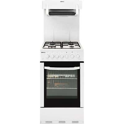 Beko BA52NEW 50cm High Level Gas Cooker with 4 Hotplate Burners in White New
