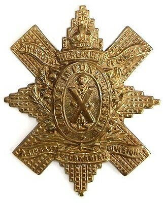 WW1 THE 13TH ROYAL HIGHLANDERS OF CANADA DIVISION BADGE