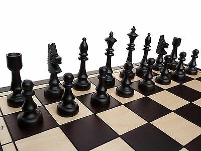 STYLISH ''CHESS CLUB'' WOODEN CHESS SET 48x48!!! DECORATIVE HAND CRAFTED SET