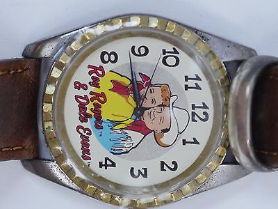 Limited Edition 1994 Fossil Roy Rogers - Dale Evans Watch NEW w/Certificate