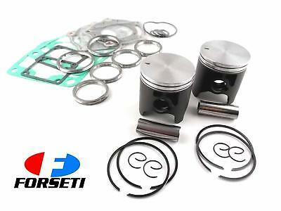 APRILIA RS250 95-03 STD FORSETI TOP END KIT 56mm PISTON RINGS GASKET SET