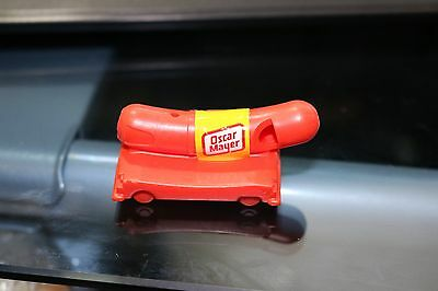OSCAR MAYER Wiener Whistle toy car Brand new
