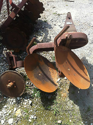 Dearborn Farm Equipment 2 Disc Turning Plow Model 10-204 3 Point Hitch