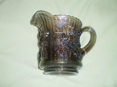 IMPERIAL ROSE CARNIVAL GLASS PITCHER