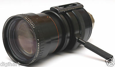 Angenieux Zoom 10-150mm f/2-2.8  Arri Mount lens, Blackmagic Pocket, BMPC