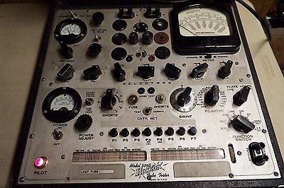 Hickok Tube Tester 539B  Working Condition