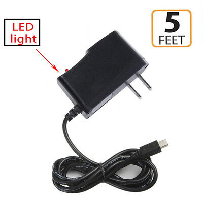 2A AC/DC Home Wall Power Charger Adapter For Chromo Vuru Slim 8 Android Tablet