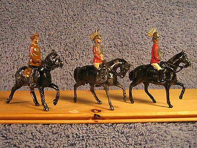 Johillco Mounted Soldiers .......'B' Scale All 3 Pieces