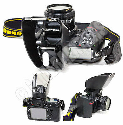 Lights Tipper Universal Pop Up flash diffuser bounce adapter for Canon Nikon