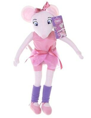 "Official New 17"" Angelina Ballerina Plush Soft Toy Doll Angelina"
