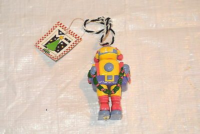 Mary Englebreit Colorful Robot Ornament