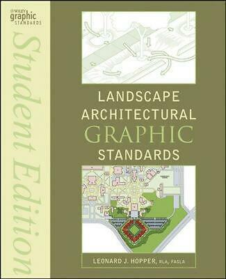 Landscape Architectural Graphic Standards by Hopper (English) Paperback Book Fre