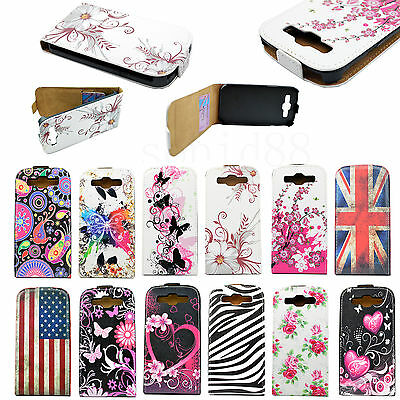 Leather Vertical Flip Card Pouch Case Cover For Samsung Galaxy S3 S III i9300