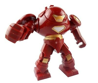 Cool Red 1 Set figures Super Heroes Building Toys Hulk Buster Iron Man Tony SQA