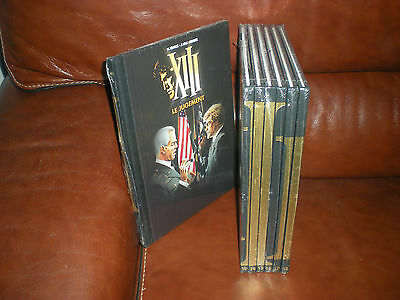 Xiii Collection De Luxe Grands Formats Dos Toiles Figaro - Lot Des Tomes 12 A 18