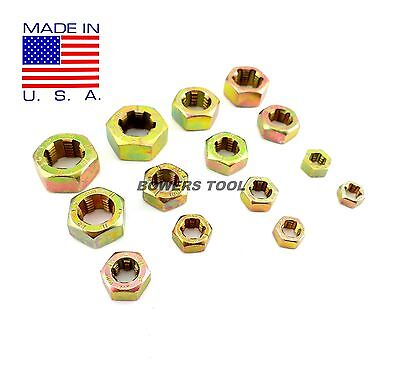 Jawco #M14 Metric Rethreading Die Set Thread Restore 14pc 6-14mm MADE IN USA