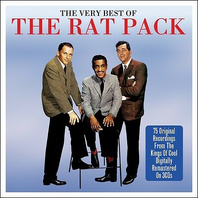 Rat Pack VERY BEST OF Frank Sinatra Dean Martin Sammy Davis Jr 75 SONGS New 3 CD