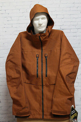 New Mens Burton AK 2L Stagger Insulated Snowboard Jacket Large True Penny
