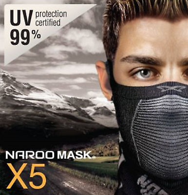 Naroo Mask X5 Multi-functional Sports Mask for 4 seasons bicycling motorcycling