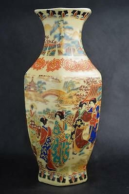 chinese  Famille Rose porcelain Hand Painting Belle vase