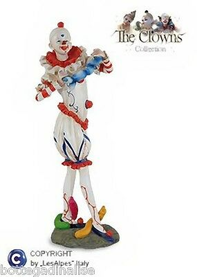 CLOWN LES ALPES - CLOWN CON PALLONCINI h.28,50cm - 001 12005 Pagliaccio