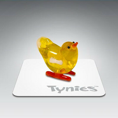 PEP Chick Yellow animal TYNIES Tiny Glass Figure Figurines Collectibles NEW 0023