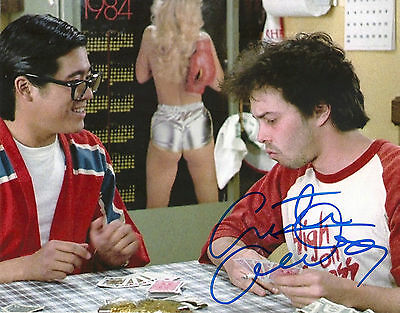 CURTIS ARMSTRONG 'REVENGE OF THE NERDS' BOOGER SIGNED 8X10 PICTURE *COA 4