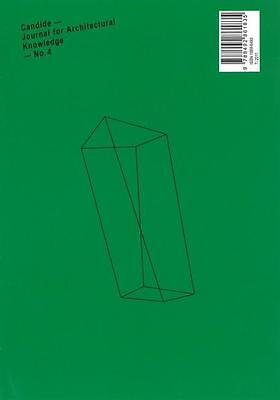 Candide - Journal for Architectural Knowledge - No. 04 ~ Axe ... 9788492861835
