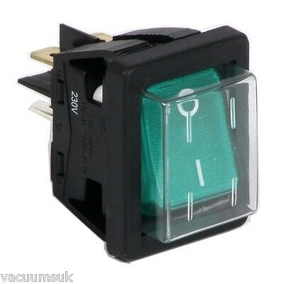 Prochem E02211-1 Illuminated Rocker Switch Fits Steempro & other Carpet Cleaning