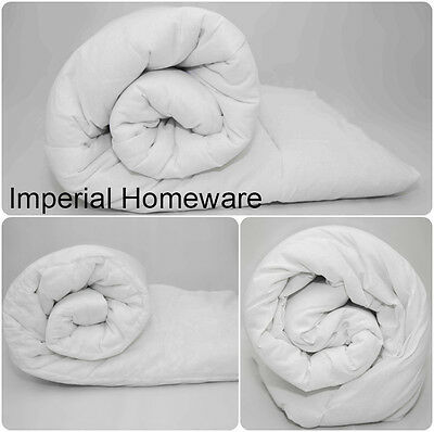 NEW TOG Heavy Weight Winter Warm Quilt/Duvet Blended Cotton All Sizes Available!