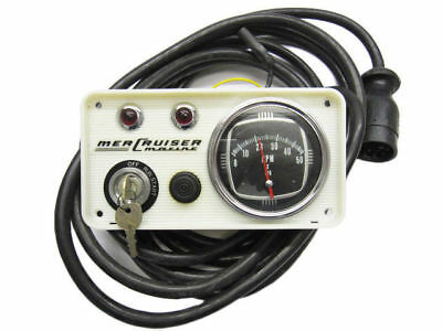 38548A1 Vintage Mercruiser Instrument Panel Assembly with Tachometer & Ignition