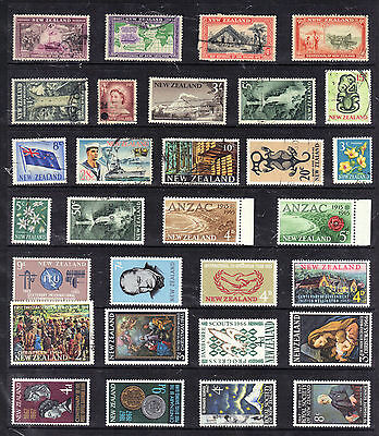 NEW ZEALAND  Old Stamp Collection  Mint Used REF:E697