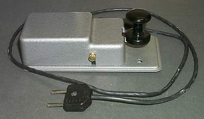 NEW / NOS_Grey_Military_Morse_Key_(1985)_[=T=]