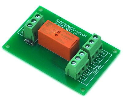 Passive Bistable/Latching DPDT 8 Amp Power Relay Module, 24V Version, RT424F24