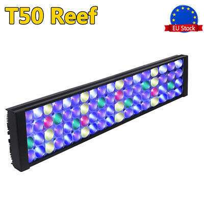 DSunY 24'' 60cm 2ft Dimmable LED Aquarium Reef Lighting Marine Coral Fish Tank