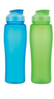 750ml Drinking Water BOTTLE - Bright BPA Free Plastic Sports Gym Fitness Drinks