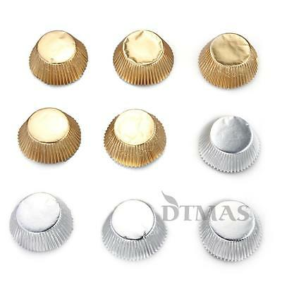 100 Foil Cupcake Liners Baking Cups Cake Candy Cookie Decoration