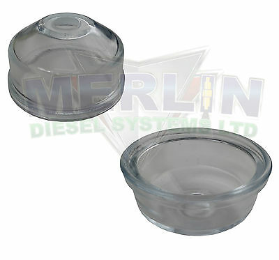 Cav Delphi Shallow Glass Bowl Filter Assembly Base 7111-429