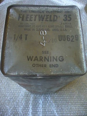 """FLEETWELD (THE LINCOLN ELECTRIC) 1/4""""T x 50#"""