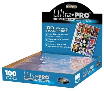 50 Ultra Pro Silver Series 9 Pocket Pages