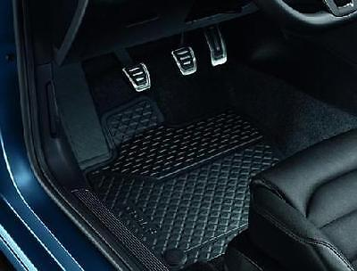 Genuine VW Golf Mk7 Mk 7.5 Front and Rear Rubber Floor Mat Set RHD **BRAND NEW**