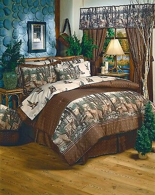 Whitetail Dreams Wildlife Buck Deer Comforter Set or Bed in Bag w/Sheets~4 Sizes