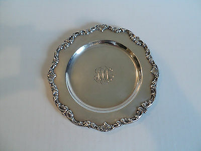 "Vintage Gorham Sterling Silver 6"" Bread & Butter Plate #A1126"