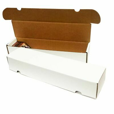 Lot of 3 Max Pro 660 Count Corrugated Cardboard Baseball Trading Card Boxes box