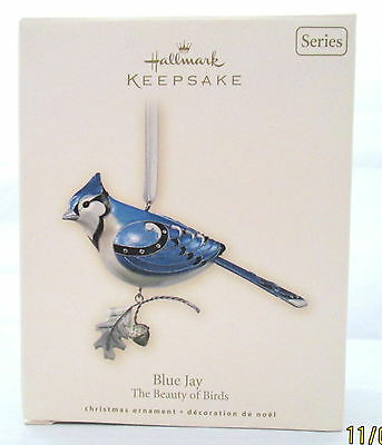 Hallmark Blue Jay The beauty of Birds third in series 2007