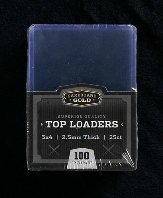 12 Packs/300 Ultra CBG Pro Clear 100pt Toploader (Thicker) Topload
